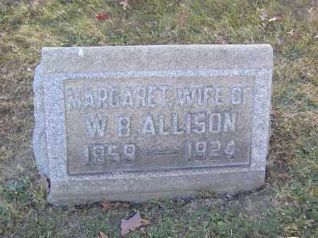 ALLISON, MARGARET - Columbiana County, Ohio | MARGARET ALLISON - Ohio Gravestone Photos