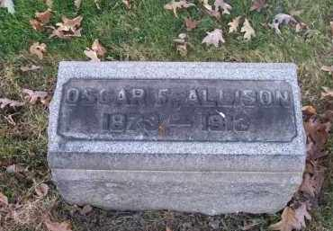 ALLISON, OSCAR F. - Columbiana County, Ohio | OSCAR F. ALLISON - Ohio Gravestone Photos