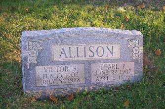 ALLISON, PEARL P. - Columbiana County, Ohio | PEARL P. ALLISON - Ohio Gravestone Photos