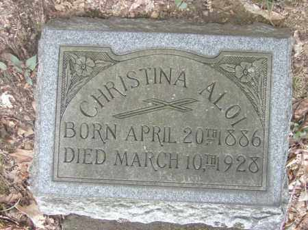 ALOI, CHRISTINA - Columbiana County, Ohio   CHRISTINA ALOI - Ohio Gravestone Photos