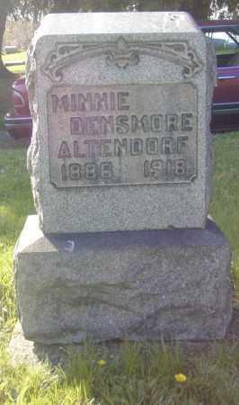 ALTENDORG, MINNIE DENSMORE - Columbiana County, Ohio | MINNIE DENSMORE ALTENDORG - Ohio Gravestone Photos