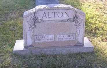ALTON, AMY HALES - Columbiana County, Ohio   AMY HALES ALTON - Ohio Gravestone Photos
