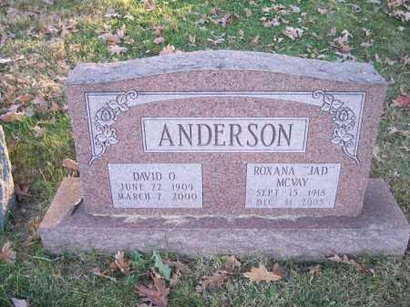 ANDERSON, ROXANA - Columbiana County, Ohio | ROXANA ANDERSON - Ohio Gravestone Photos
