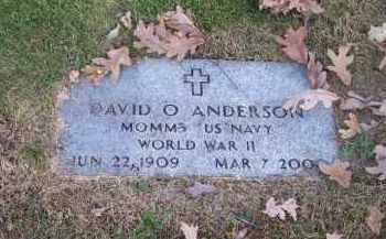 ANDERSON, DAVID O> - Columbiana County, Ohio   DAVID O> ANDERSON - Ohio Gravestone Photos