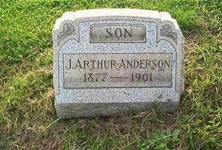 ANDERSON, J. ARTHUR - Columbiana County, Ohio | J. ARTHUR ANDERSON - Ohio Gravestone Photos