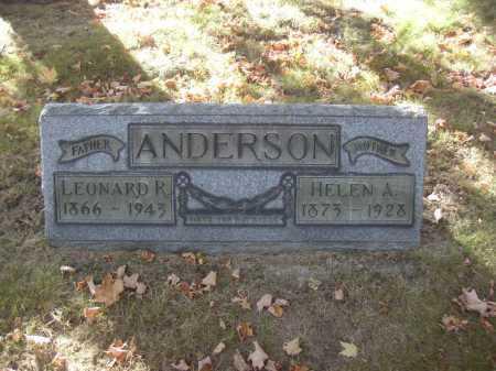 ANDERSON, LEONARD R. - Columbiana County, Ohio | LEONARD R. ANDERSON - Ohio Gravestone Photos