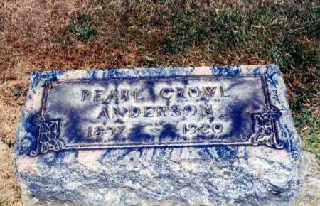 CROWL ANDERSON, PEARL - Columbiana County, Ohio | PEARL CROWL ANDERSON - Ohio Gravestone Photos