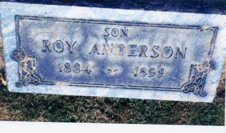 ANDERSON, ROY - Columbiana County, Ohio   ROY ANDERSON - Ohio Gravestone Photos