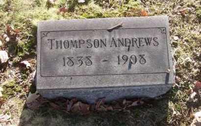 ANDREWS, THOMPSON - Columbiana County, Ohio | THOMPSON ANDREWS - Ohio Gravestone Photos