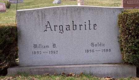 ARGABRITE, GOLDIE - Columbiana County, Ohio | GOLDIE ARGABRITE - Ohio Gravestone Photos