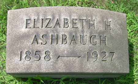 ASHBAUGH, EDITH H - Columbiana County, Ohio | EDITH H ASHBAUGH - Ohio Gravestone Photos