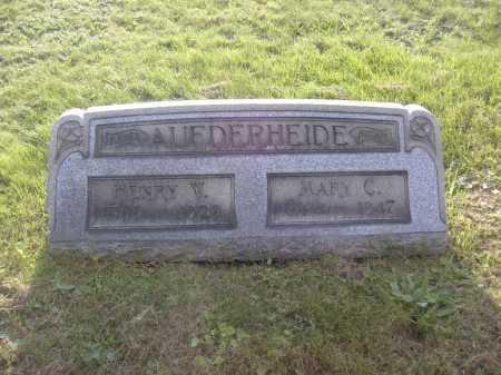 AUFDERHEIDE, MARY C. - Columbiana County, Ohio | MARY C. AUFDERHEIDE - Ohio Gravestone Photos