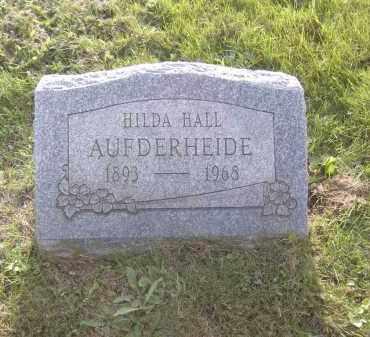 AUFDERHEIDE, HILDA HALL - Columbiana County, Ohio | HILDA HALL AUFDERHEIDE - Ohio Gravestone Photos