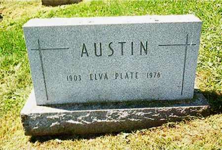 AUSTIN, ELVA - Columbiana County, Ohio | ELVA AUSTIN - Ohio Gravestone Photos
