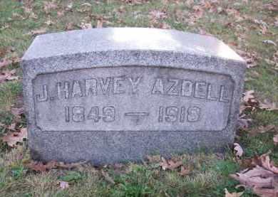 AZDELL, J. HARVEY - Columbiana County, Ohio   J. HARVEY AZDELL - Ohio Gravestone Photos