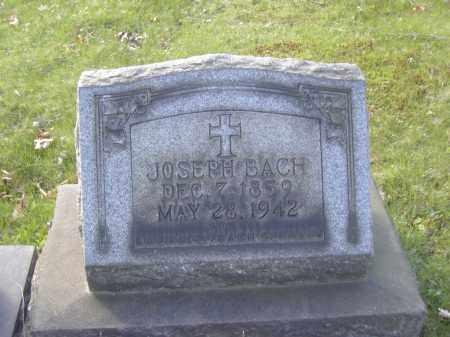 BACH, JOSEPH - Columbiana County, Ohio | JOSEPH BACH - Ohio Gravestone Photos