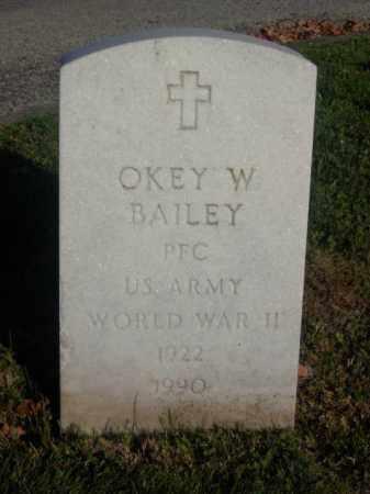 BAILEY, OKEY W. - Columbiana County, Ohio | OKEY W. BAILEY - Ohio Gravestone Photos
