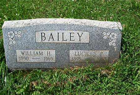 BAILEY, WILLIAM H. - Columbiana County, Ohio | WILLIAM H. BAILEY - Ohio Gravestone Photos