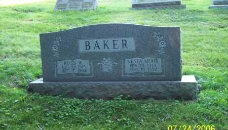 MOHR BAKER, VESTA - Columbiana County, Ohio | VESTA MOHR BAKER - Ohio Gravestone Photos