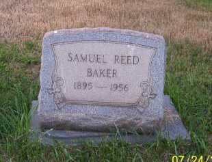 BAKER, SAMUEL REED - Columbiana County, Ohio | SAMUEL REED BAKER - Ohio Gravestone Photos