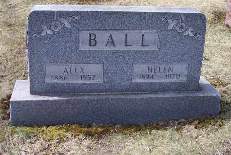 BALL, HELEN - Columbiana County, Ohio | HELEN BALL - Ohio Gravestone Photos