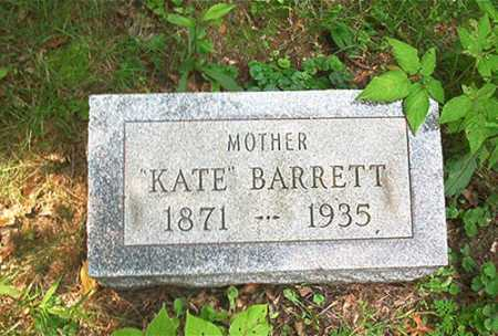 BARRETT, SARAH CATHERINE [KATE] - Columbiana County, Ohio | SARAH CATHERINE [KATE] BARRETT - Ohio Gravestone Photos