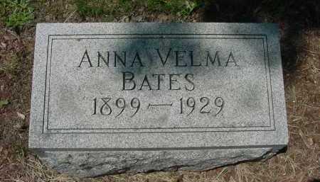BATES, ANNA VELMA - Columbiana County, Ohio | ANNA VELMA BATES - Ohio Gravestone Photos