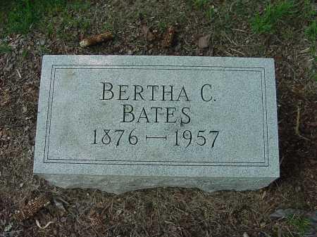 BATES, BERTHA - Columbiana County, Ohio | BERTHA BATES - Ohio Gravestone Photos