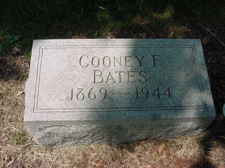 BATES, COONEY - Columbiana County, Ohio | COONEY BATES - Ohio Gravestone Photos