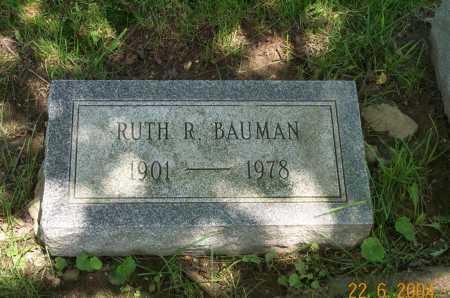 BAUMAN, RUTH - Columbiana County, Ohio   RUTH BAUMAN - Ohio Gravestone Photos
