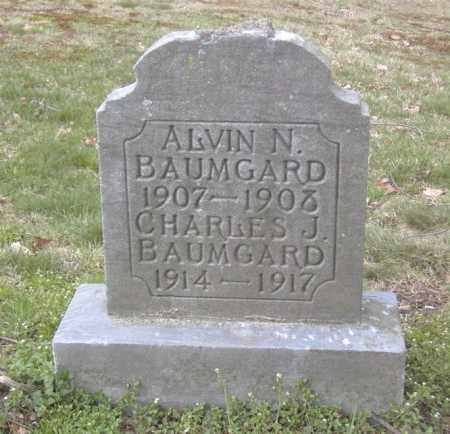BAUMGARD, CHARLES J. - Columbiana County, Ohio | CHARLES J. BAUMGARD - Ohio Gravestone Photos