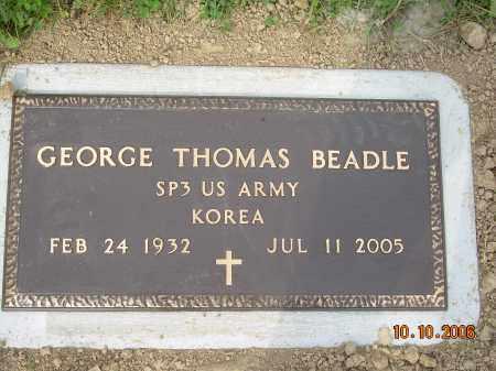 BEADLE, GEORGE THOMAS - Columbiana County, Ohio   GEORGE THOMAS BEADLE - Ohio Gravestone Photos