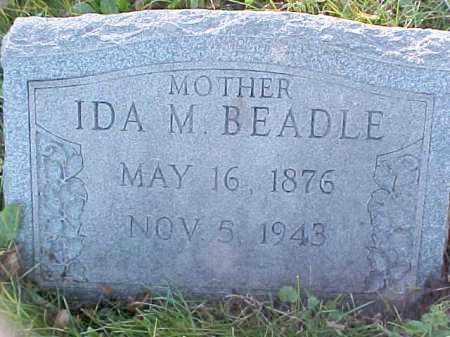 POULTON BEADLE, IDA M - Columbiana County, Ohio | IDA M POULTON BEADLE - Ohio Gravestone Photos