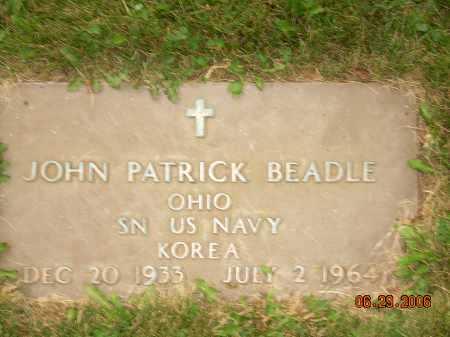 BEADLE, JOHN PATRICK - Columbiana County, Ohio   JOHN PATRICK BEADLE - Ohio Gravestone Photos