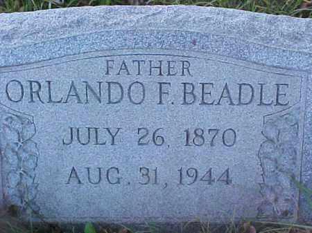 BEADLE, ORLANDO FRANKLIN - Columbiana County, Ohio | ORLANDO FRANKLIN BEADLE - Ohio Gravestone Photos