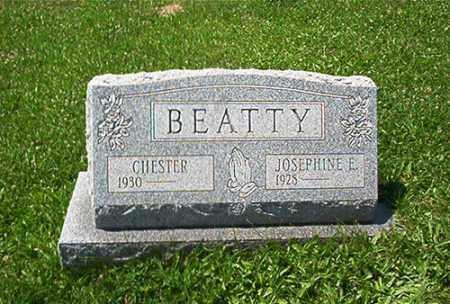 BEATTY, JOSEPHINE E. - Columbiana County, Ohio | JOSEPHINE E. BEATTY - Ohio Gravestone Photos