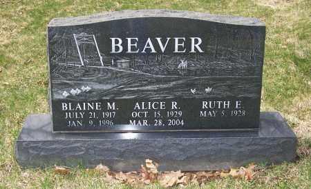 BEAVER, ALICE R. - Columbiana County, Ohio | ALICE R. BEAVER - Ohio Gravestone Photos