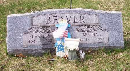 BEAVER, EDWARD S. - Columbiana County, Ohio | EDWARD S. BEAVER - Ohio Gravestone Photos