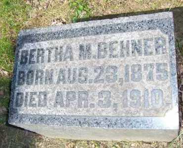 BEHNER, BERTHA M. - Columbiana County, Ohio   BERTHA M. BEHNER - Ohio Gravestone Photos