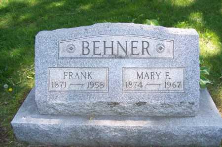 SYME BEHNER, MARY - Columbiana County, Ohio | MARY SYME BEHNER - Ohio Gravestone Photos