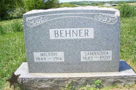 HARRISON BEHNER, SAMANTHA - Columbiana County, Ohio   SAMANTHA HARRISON BEHNER - Ohio Gravestone Photos