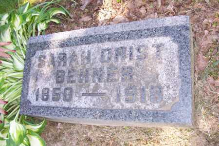 CRIST BEHNER, SARAH - Columbiana County, Ohio | SARAH CRIST BEHNER - Ohio Gravestone Photos