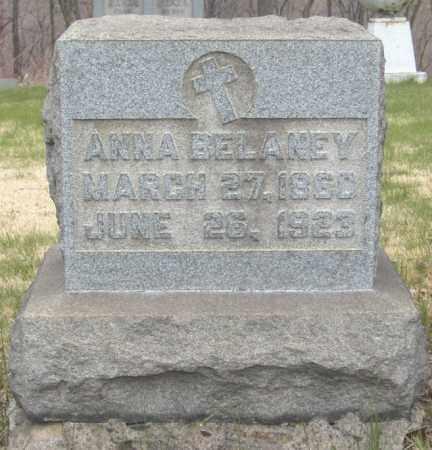 BELANEY, ANNA - Columbiana County, Ohio | ANNA BELANEY - Ohio Gravestone Photos