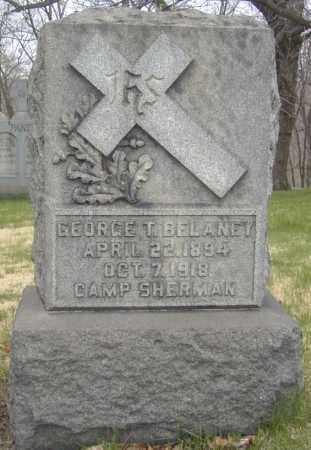 BELANEY, GEORGE T. - Columbiana County, Ohio | GEORGE T. BELANEY - Ohio Gravestone Photos