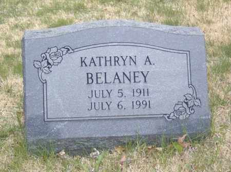 BELANEY, KATHRYN A. - Columbiana County, Ohio | KATHRYN A. BELANEY - Ohio Gravestone Photos