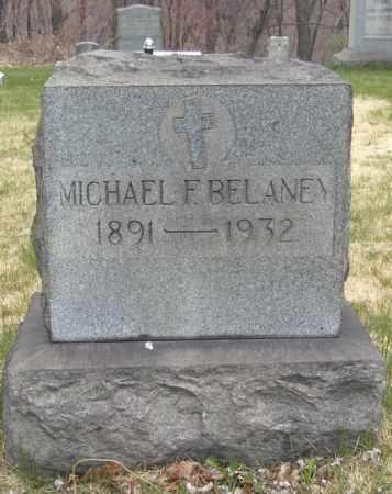 BELANEY, MICHAEL F. - Columbiana County, Ohio | MICHAEL F. BELANEY - Ohio Gravestone Photos