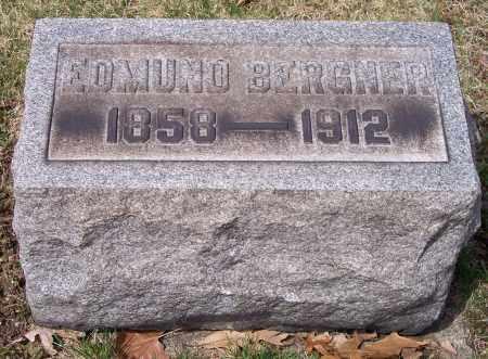 BERGNER, EDMUND - Columbiana County, Ohio | EDMUND BERGNER - Ohio Gravestone Photos