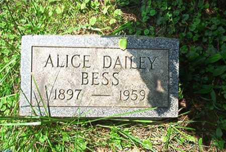 DAILEY BESS, ALICE - Columbiana County, Ohio | ALICE DAILEY BESS - Ohio Gravestone Photos