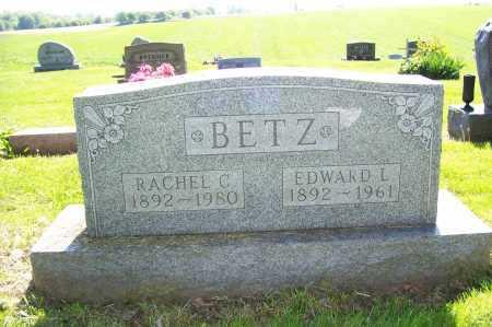 BETZ, RACHEL - Columbiana County, Ohio | RACHEL BETZ - Ohio Gravestone Photos