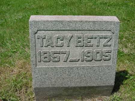 BETZ, TACY - Columbiana County, Ohio | TACY BETZ - Ohio Gravestone Photos
